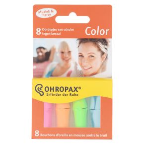 Ohropax Color oordopjes product photo