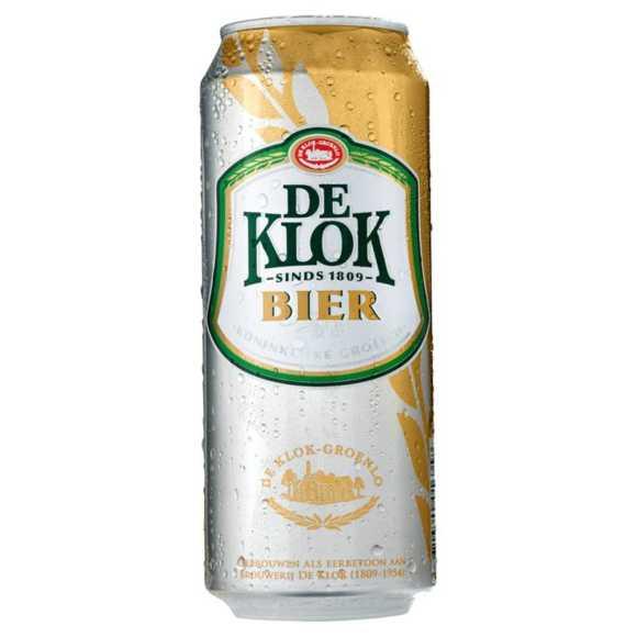De Klok Bier blik 50 cl product photo