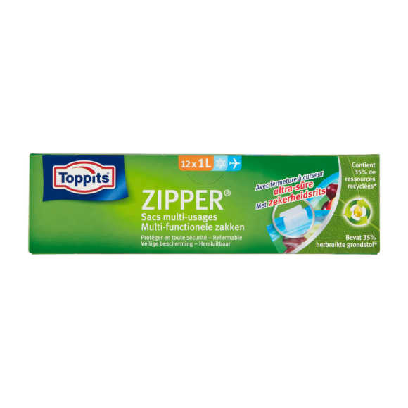 Zipper Vershoudzak product photo