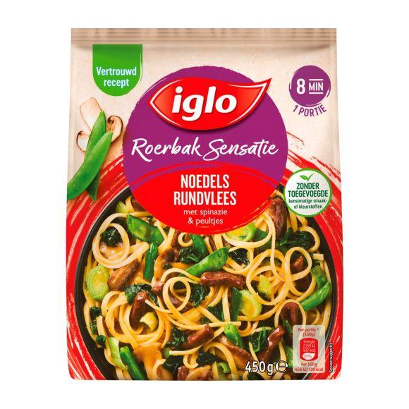 Iglo Roerbaksensatie Noodles Rundvlees product photo
