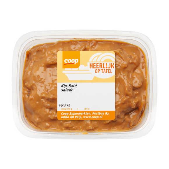Coop Kip saté salade 1 ster product photo