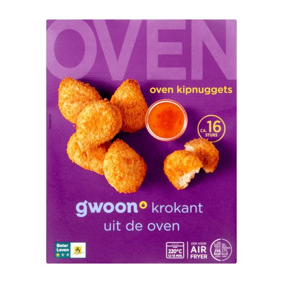 g'woon Oven kip nuggets product photo