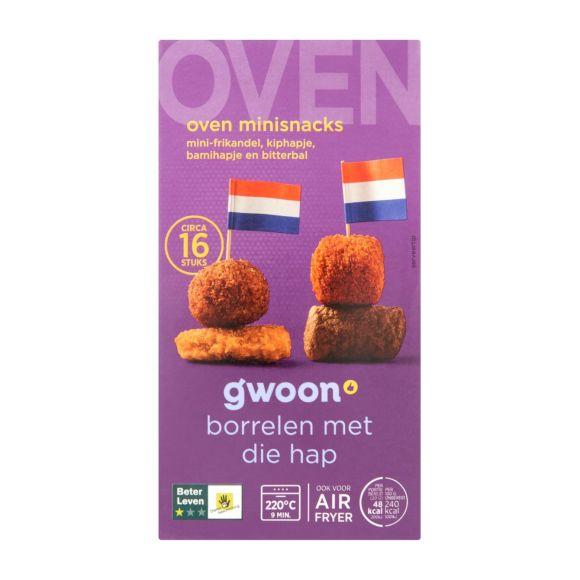 g'woon Oven mini snacks product photo