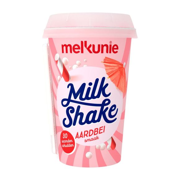 Melkunie Milkshake aardbei product photo