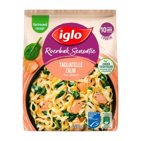 Iglo Roerbaksensatie Tagliatelle Zalm product photo