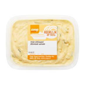 Coop Scharrelei bieslook salade 2 sterren product photo