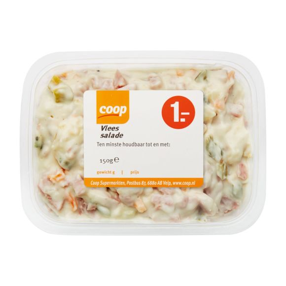 Coop Vlees salade product photo