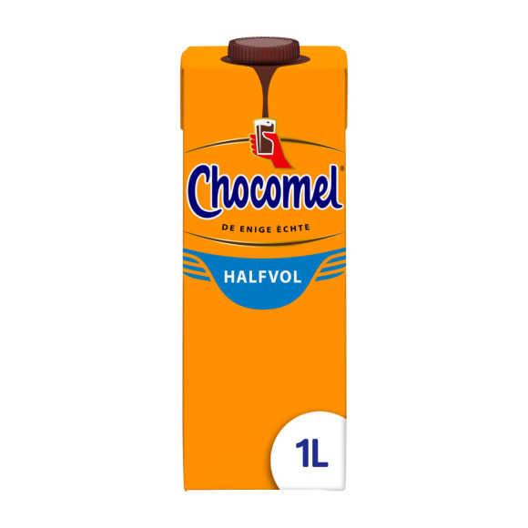 Chocomel Chocolademelk Halfvol 1 l Pak product photo