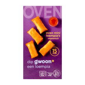 g'woon oven mini loempia's product photo