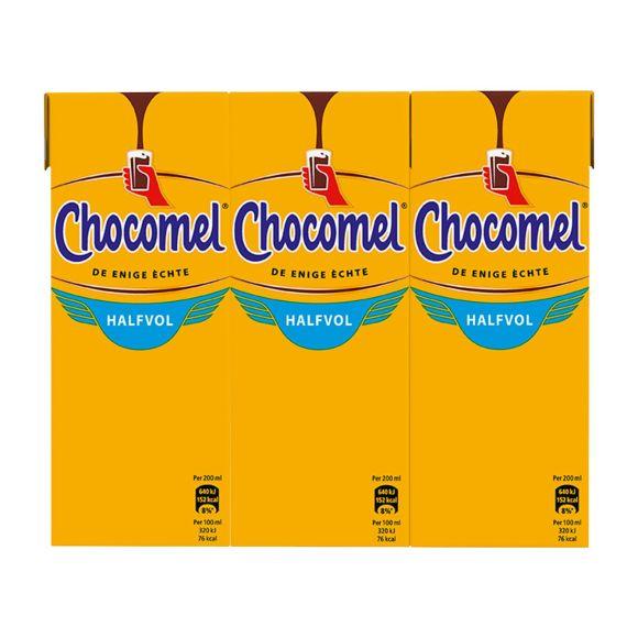 Chocomel Chocolademelk Halfvol 6 x 200 ml Multi-pack product photo