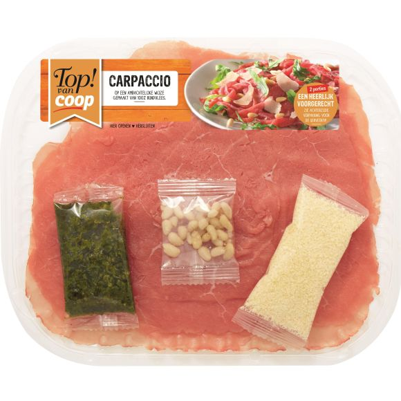 Authentieke carpaccio product photo