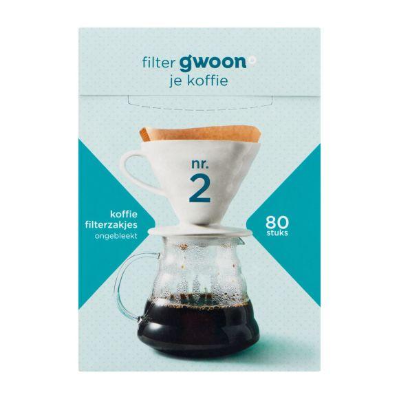 g'woon Filterzakjes nr. 2 product photo