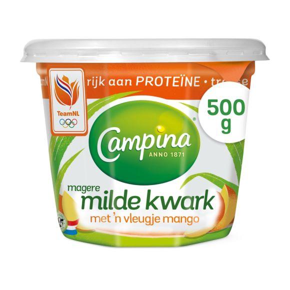 Campina Magere milde kwark mango product photo