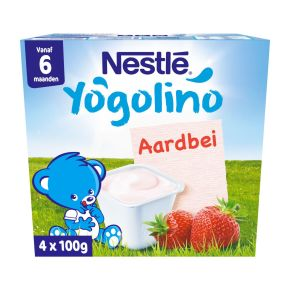 Nestlé Yogolino aardbei product photo
