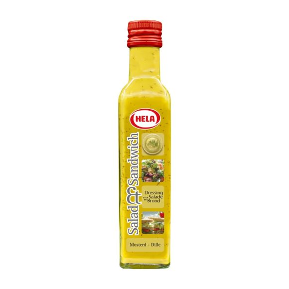 Hela Salad & Sandwich Mosterd-dille dressing product photo