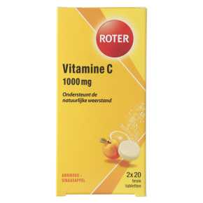 Roter Bruistablet vitamine C product photo