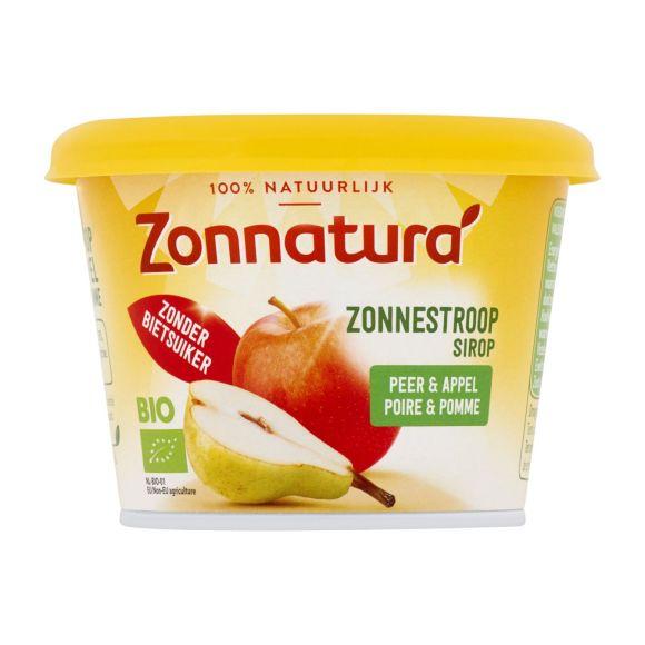 Zonnatura Zonnestroop peer & appel biologisch product photo
