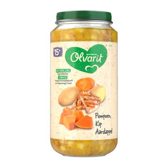 Olvarit Pompoen kip aardappel 15+ maanden product photo
