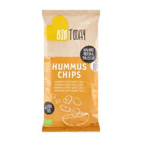 BioToday Hummus Chips Sweet Chili 75 g product photo