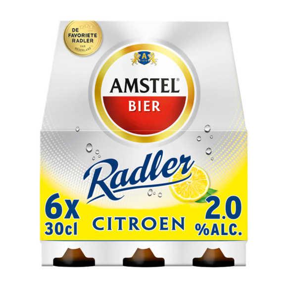 Amstel Radler bier citroen fles 6x30cl product photo