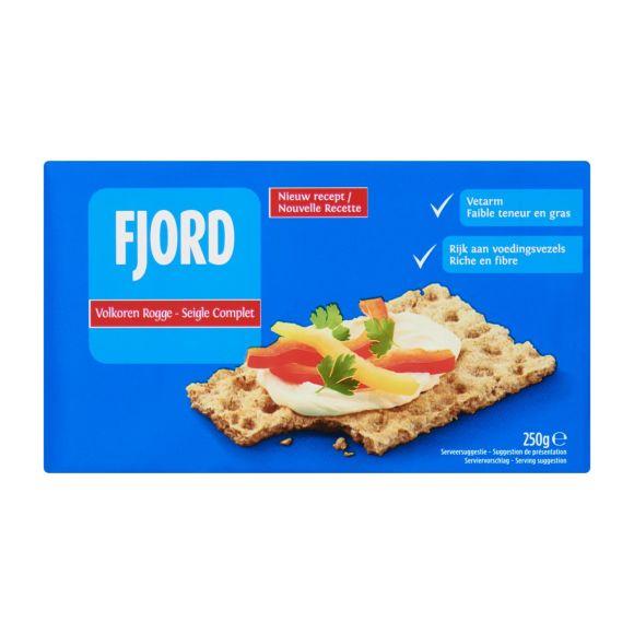Fjord Knäckebröd volkoren rogge product photo