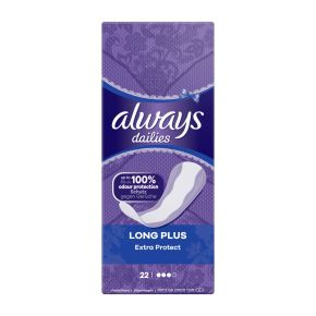 Always Dailies Long Plus Extra Protect inlegkruisjes product photo