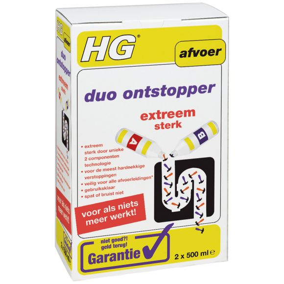 HG Duo ontstopper product photo
