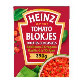 HEINZ Tomatenblokjes Basilicum Oreg product photo