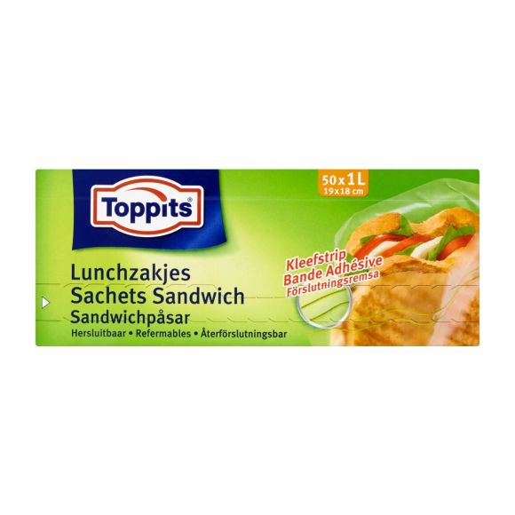 Toppits Lunchzakjes met sluiting product photo