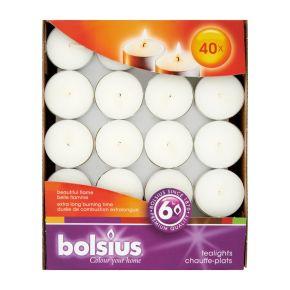Bolsius Theelicht 6 uur doos 40 product photo