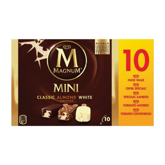 Magnum Mini ijs classic almond white product photo