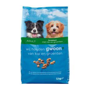 g'woon Hondenbrokken met kip en groenten product photo