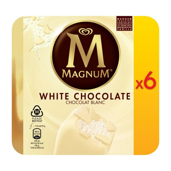 Magnum White Chocolate product photo