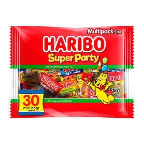 Haribo super party uitdeelzak mini's product photo
