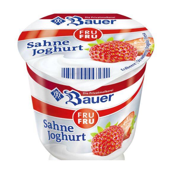 Bauer Roomyoghurt vruchten product photo