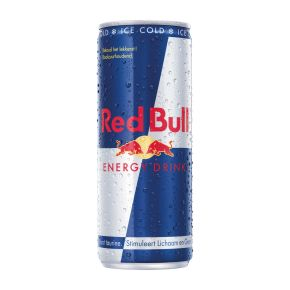 Red Bull Energy drink gekoeld blik product photo