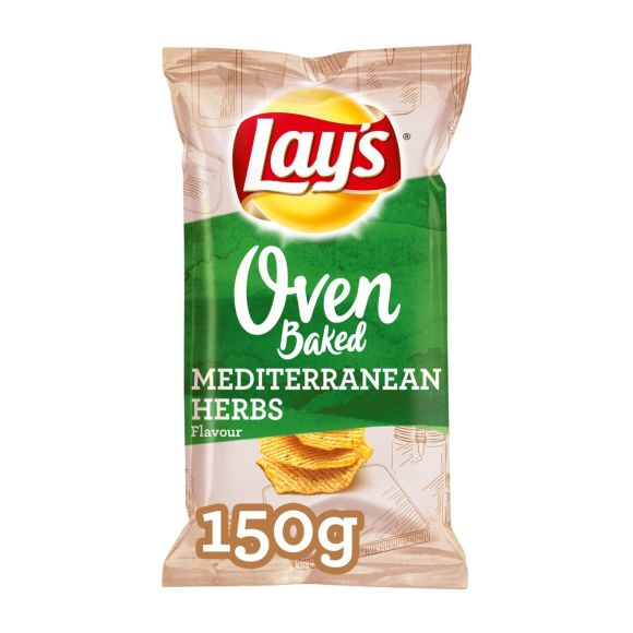 Lay's Oven Baked mediterranean herbs product photo