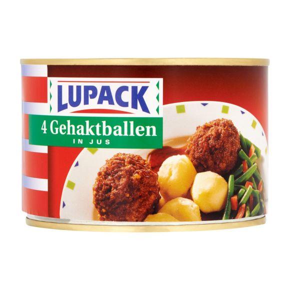 Lupack 4 gehaktballen in jus product photo