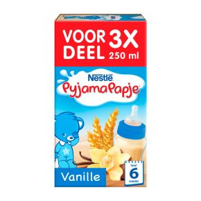 Nestlé Pyjamapapje vanille 3 x 250 ml product photo