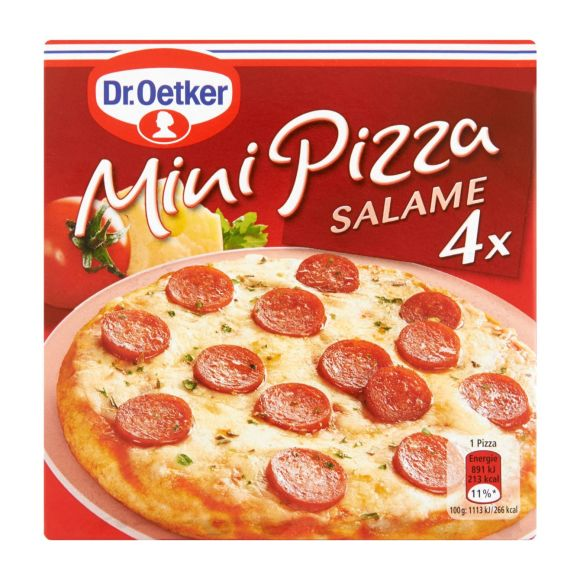 Dr. Oetker Mini Pizza Salame NL product photo