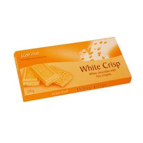 Karina chocoladereep wit crisp product photo