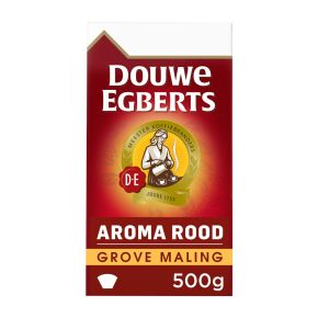 Douwe Egberts Aroma rood grove maling filterkoffie product photo