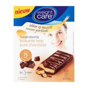 Weight Care Crusty snack pure chocolade product photo