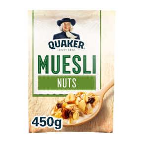 Quaker Havermout muesli noten product photo