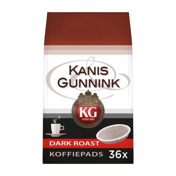 Kanis & Gunnink Dark Roast koffiepads product photo