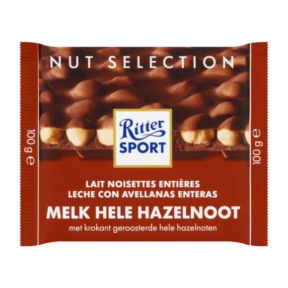 Ritter Sport Melk hele hazelnoot product photo