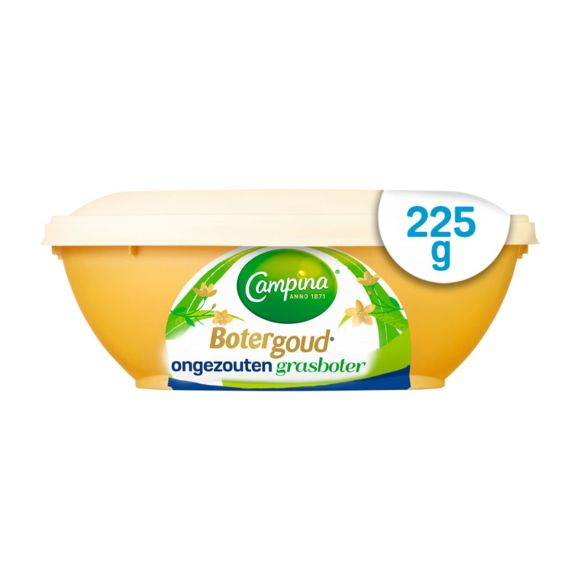 Campina Botergoud ongezouten grasboter product photo
