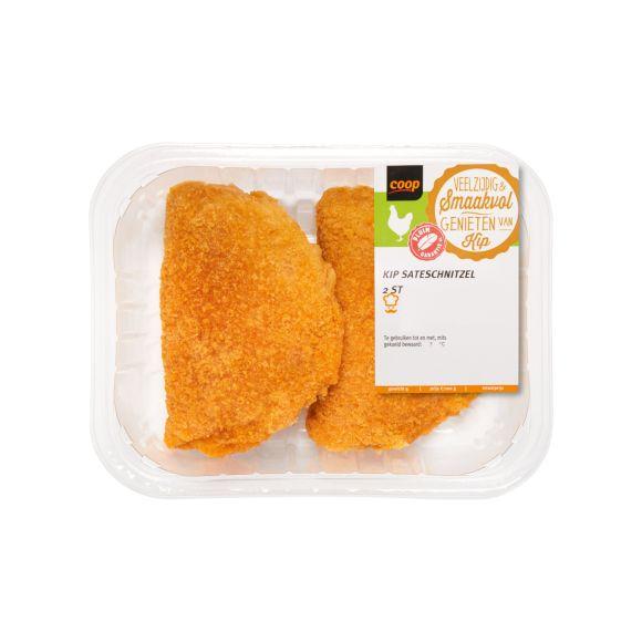 Kip saté schnitzels product photo