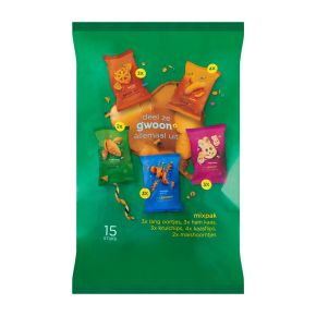 g'woon Uitdeel snack mix product photo