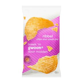 g'woon Ribbelchips sour cream & onion product photo